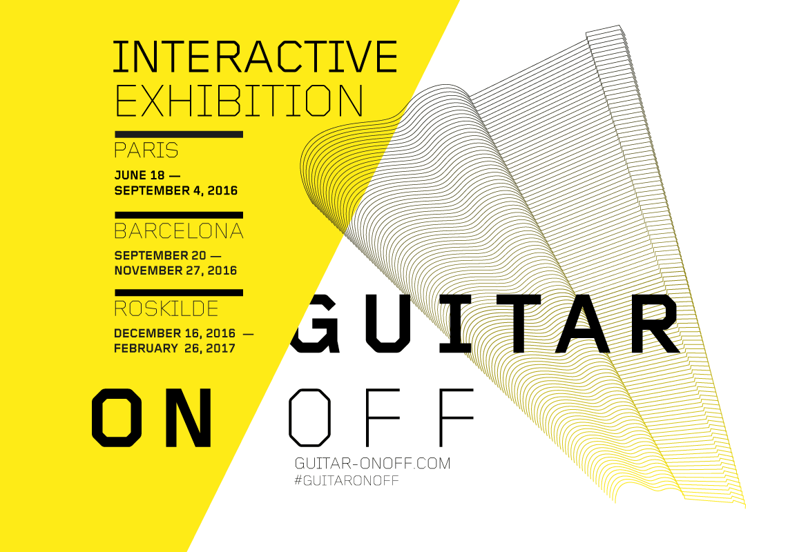 Guitar On Off Exhibition